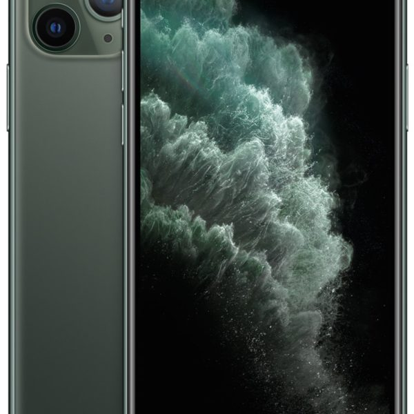 Apple-iPhone-11-Pro-Midnight-Green-frontimage
